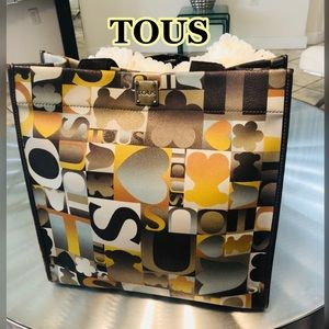 💯% Authentic Tous Colored Kaos Tote